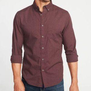 Old Navy Slim-Fit Poplin Shirt For Men- XXL
